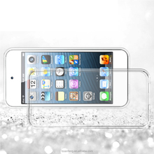 drop resistance acid-free crystal clear case for ipod touch 6