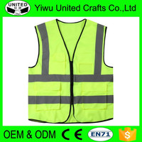2016 fabric Warning reflector jackets for safety