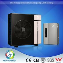 fast heat inverter split air cooled water heaters for heating