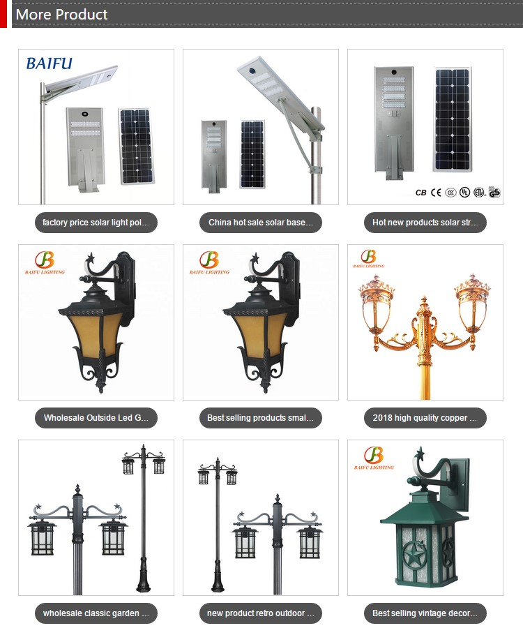 waterproof cast aluminum exterior LED garden wall mounted light outdoor E27