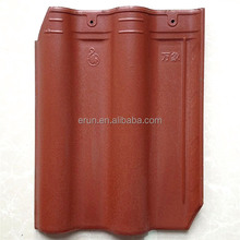 2016 new design double bent roofing tile with low price