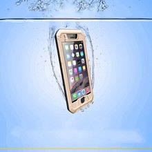 for cell phone hybrid slim armor metal mobile case ,for iphone 6 aluminum waterproof shockproof case