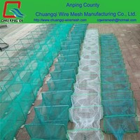 Wholesale custom high strength fish cage / fish farming cage / fish cage net