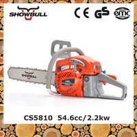 SHOWBULL cutting concrete easy start chainsaw machine 58cc with Walbro Carburetor