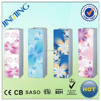 YLR-2/5-X135 brand supplier promotion model stand glass panel dustproof hot cold water cooler with refrigerator