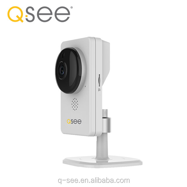 Q-See brand wifi ip camera p2p onvif 2MP HD Full View 180 Degrees Panoramic CCTV fish eye camera