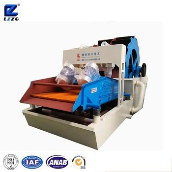 new type mineral gravels washing machine with screening from lzzg