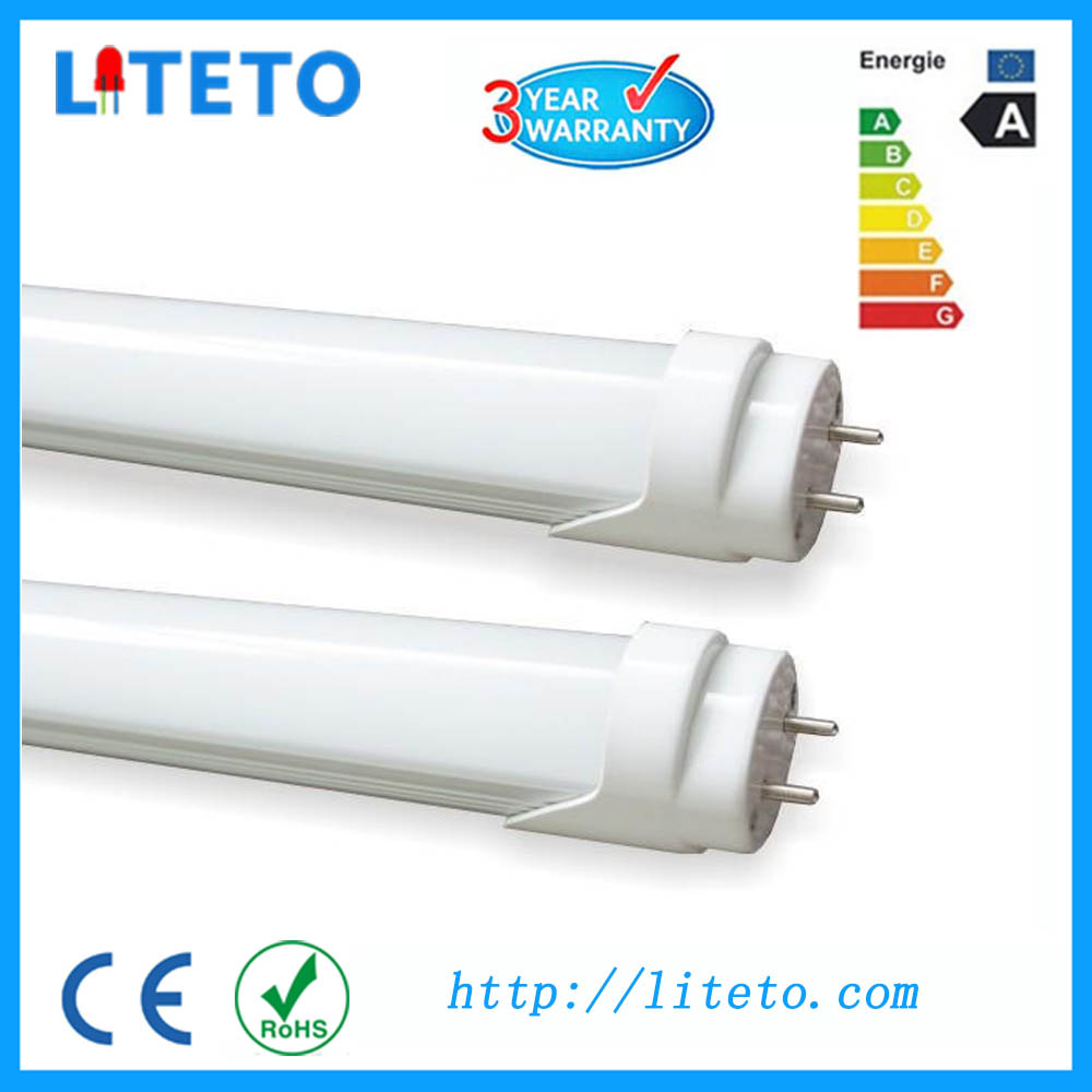 CE RoHS approve smd2835 g13 18w 1200mm t8 led tubelight