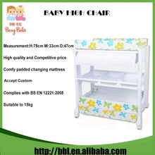 2016 Manufacturer Newest Design High Quality Movable Plastic Colourful Changing Table Baby
