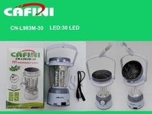 solar camping lights Plastic led camping lights, rechargeable camping lantern