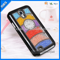 2014 wholesale Fashion Luxury design Bling Bling crystal mobile rhinestone phone case for samsung galaxy S4