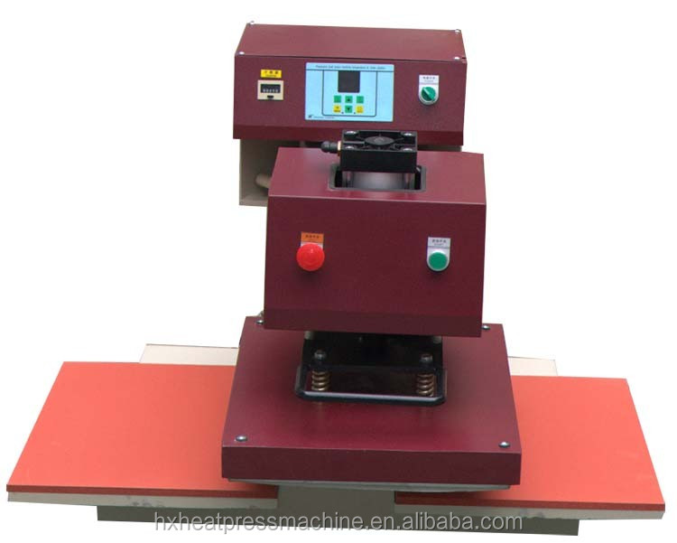 CE Approved CE QX-B2 Heating Plate laser printing machine heat press for plastisol print transfers