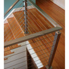 Whole railing systems top supplier balcony fence cable railing post hardware