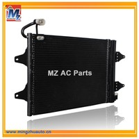 Car Air Conditioning Condenser Price For VW POLO FABIA Seat CORDOBA IBIZA OE NO.6Q0820411G 6Q0820411K 6Q0820411E