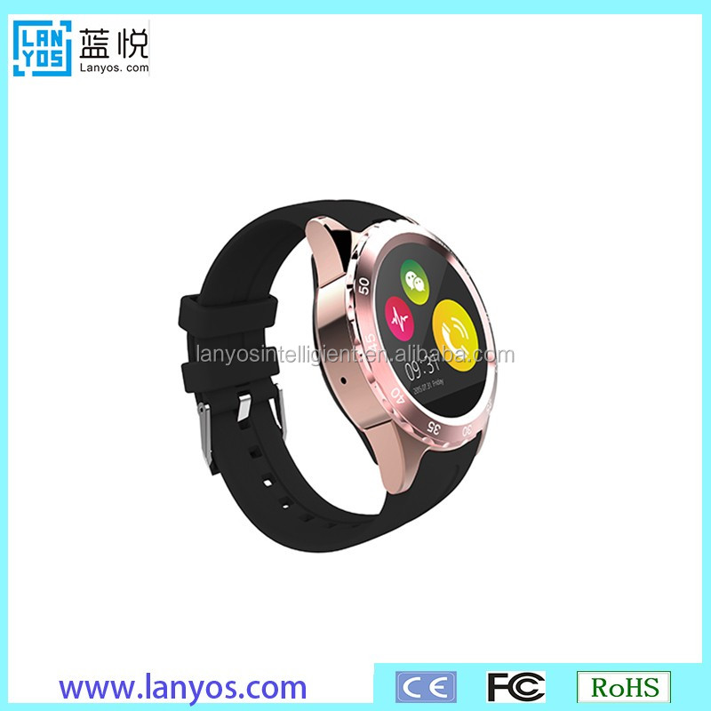 Latest wrist watch mobile phone fashion touch screen luxury watch