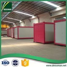 DESUMAN made in china luxurious wind and earthquake resistance prefab container coffee shop