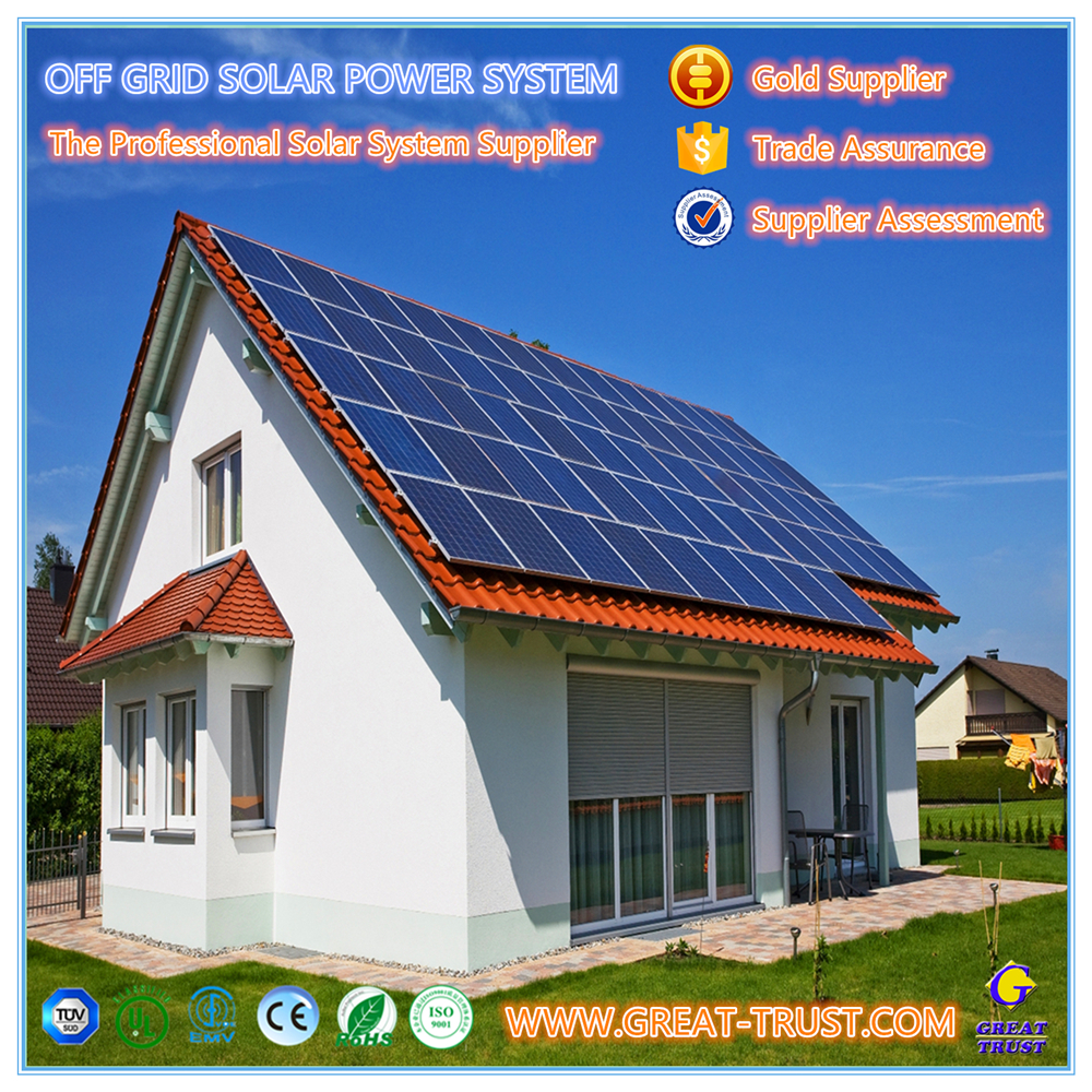 Energy Saving 10KW,industrial solar panel system solar system planets pictures with CE certificate