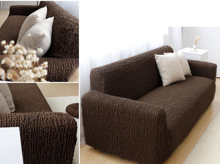 High quality custom waterproof furniture protectors L-shaped elastic sofa cover, sofa cover