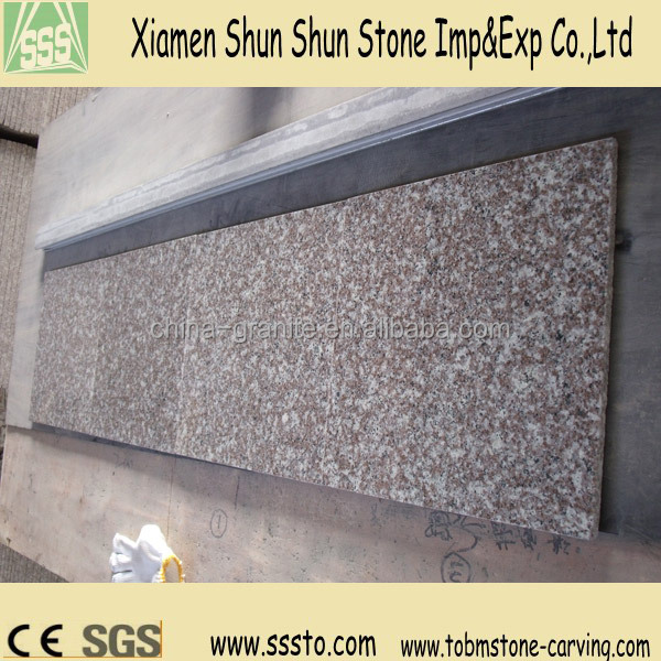 low price China G664 misty brown granite