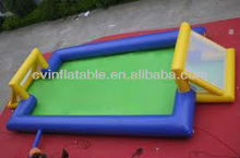 water game football court inflatable /hot water sports inflatable
