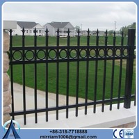 Wholesale Products China ornamental classic and commercial apartment steel iron fencing