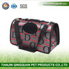 BSCI QingQ Factory 2016 new arrival wholesale customized pet shoulder carrier dog car carrier