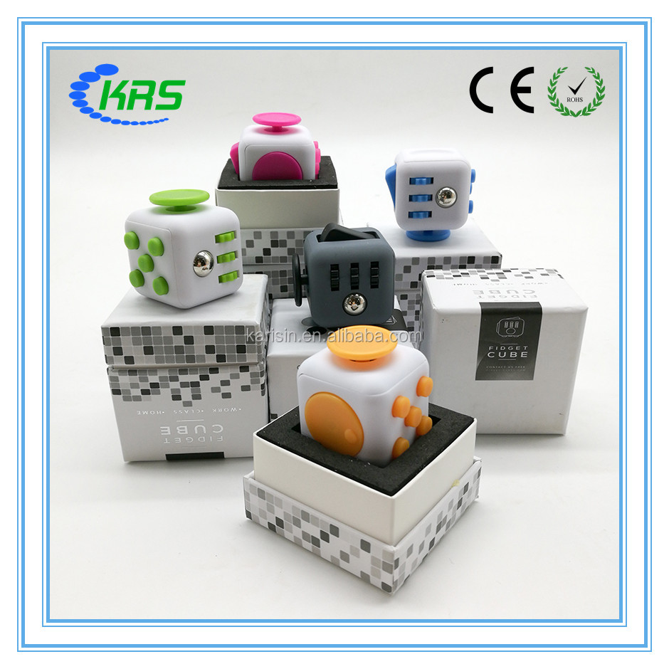 Hot Selling magical cube fidget cube relieves stress and anxiety toy