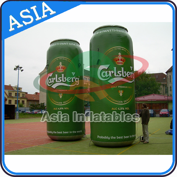Inflatable Collectible Promotional Bottle