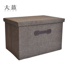 Hot selling durable foldable cardboard decorative storage box