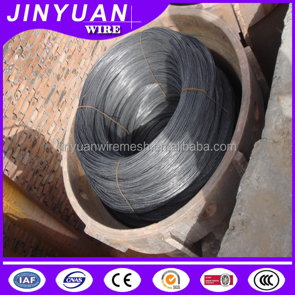black soft annealed treatment best quality building wire 22 gauge diameter 50kg packing weight on sale from Jinyuan