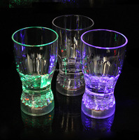 Induction Led Flashing coke Cup Appliance for Nightclub Bar KTV Birthday Party and Dance Party Halloween Christmas Events