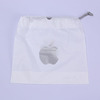 PE plastic drawstring bag for iphone