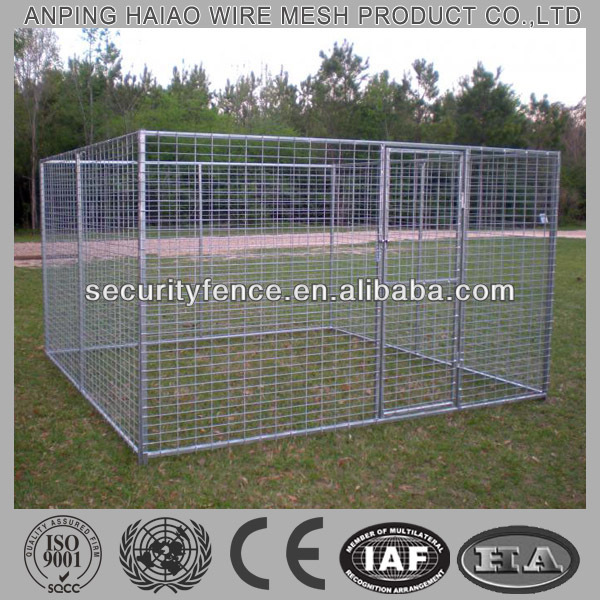 welded cheap dog kennels