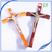 religious wood carving jesus wood crucifix
