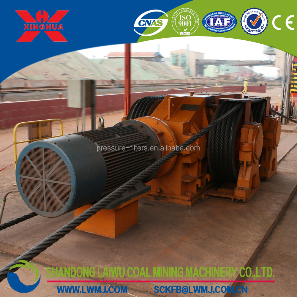 4JDM-30 hydraulic winch mining equipment with winch rope applicable for marshalling trains in railway