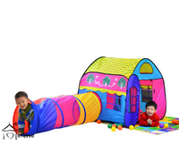 wholesale price play tent and tunnel,play tent with tunnel,kids play tunnel