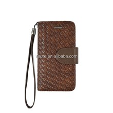 Junior Intrecciato Nappa Maxi Veneta wallet leather case for iphone5c