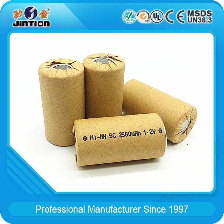 NI-CD SC 2000mah 1.2v Rechargeable Battery Cell