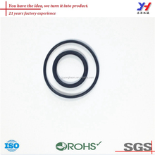 High quality durable black silicone rubber band