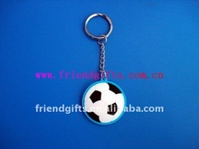 Best personalized rubber/silicone Football Basketball Soccer keychain(perfecr giveaways)