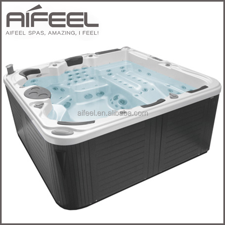 aifeel freestanding acrylic 5 person massage balboa. Black Bedroom Furniture Sets. Home Design Ideas