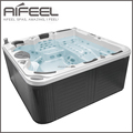 Aifeel freestanding acrylic 5 person massage balboa control system portable hot tub whirlpool outdoor spa