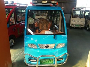 sumptuousness electric special purpose vehicle with certificates