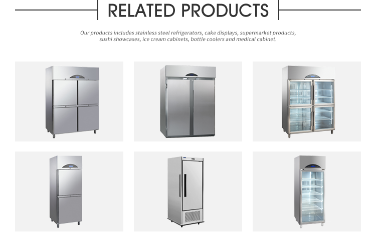 Surpass Commercial Freezer Stainless Steel Upright Refrigerated Cabinets