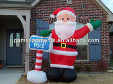 outdoor christmas inflatable balloons supplier F8025