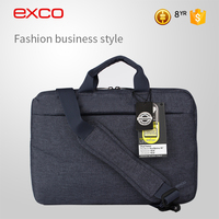 EXCO unisex waterproof business neoprene foldable laptop 3 compartment pattern computer shoulder bag