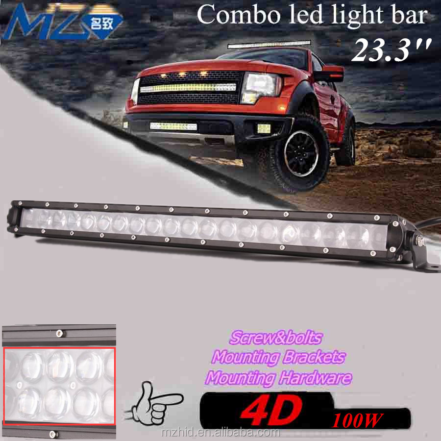 factory driect selling new listing 4*4 combo amber 4D LED bar light for car