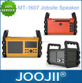 2016 JOOJII newly design outdoor fm jobsite radio