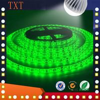 Real factory SMD 5050 LED aluminum Flexible Strips IP65 Waterproof 60Led/m DC 12V RGB color