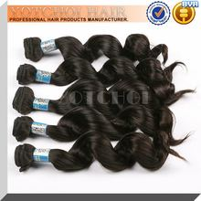 Qingdao yotchoi manufacturer supply hair extension 100% unprocessed human peruvian virgin hair